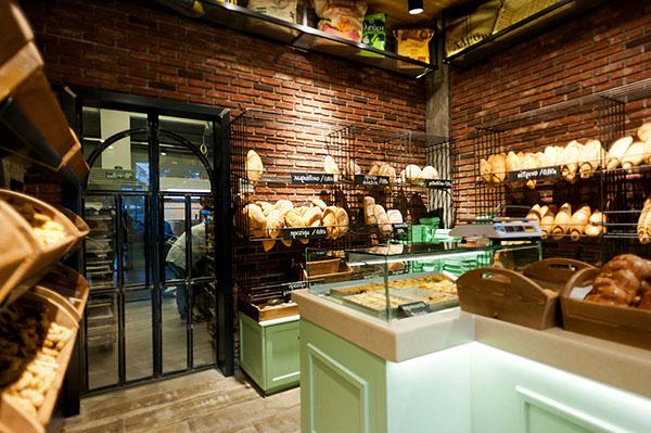 Constantinos bikas interior designer kogia bakery on behance for Bakery interior design