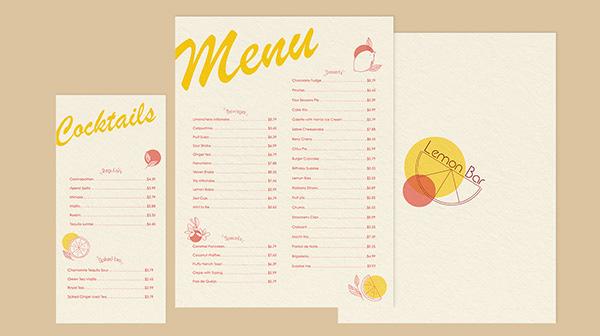Lemon Bar   Cafe Identity