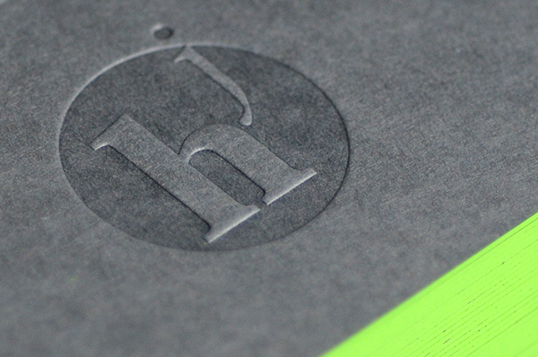 Julien hauchecorne business card lime green on behance reheart