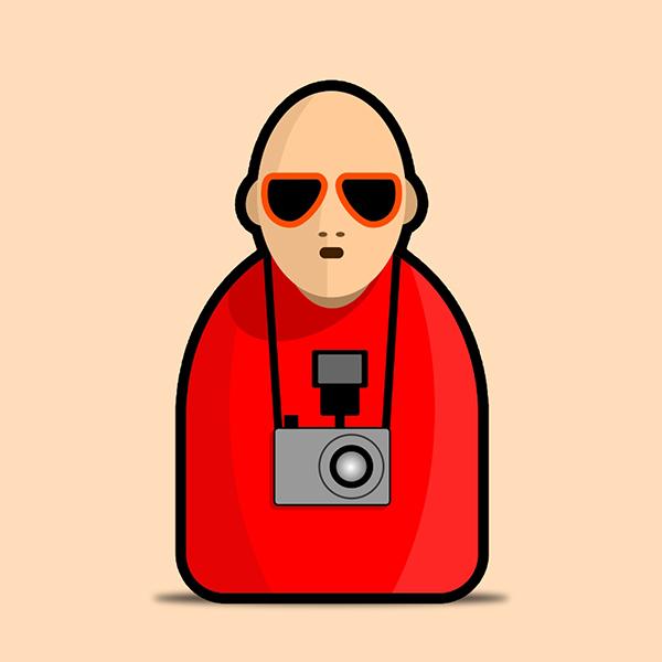 charachter artist icons faces bodies stylised mute color bojan janjic faruk garic ljubomir todorovic bubadesign slobomir Bosnia karakteri likovi vector ilustracija ikone