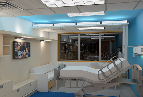 Med Surg Inpatient Room On Philau Portfolios