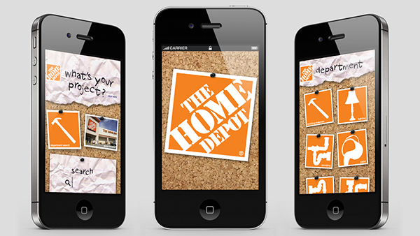 Home depot project app