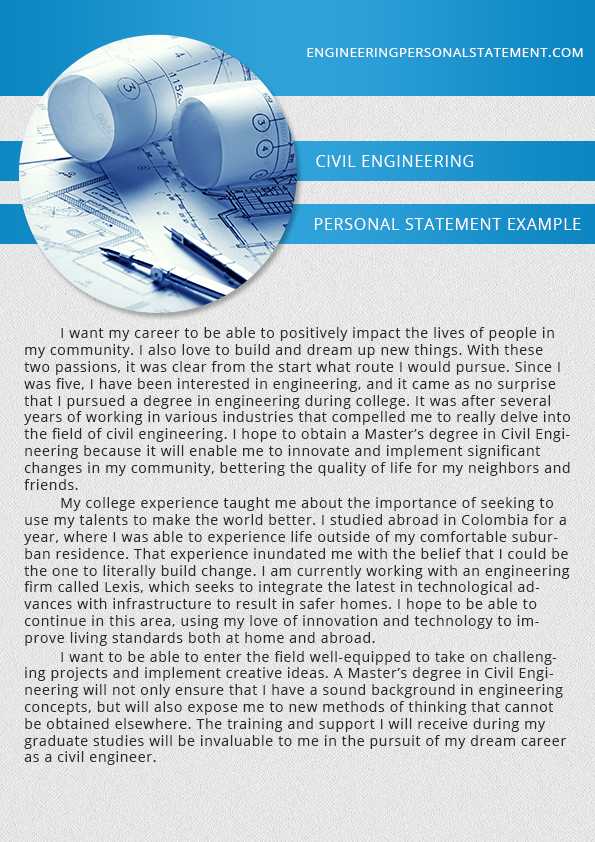 chemical engineering personal statement on behance