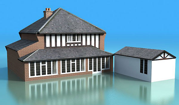 3D buildings Render 3ds MAX MentalRay realistic 3d Visualisation visualisation