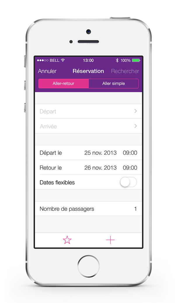 ios app mobile design