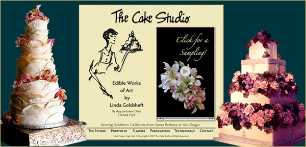 wedding cake brochure high arte s portfolio of services on behance 22103