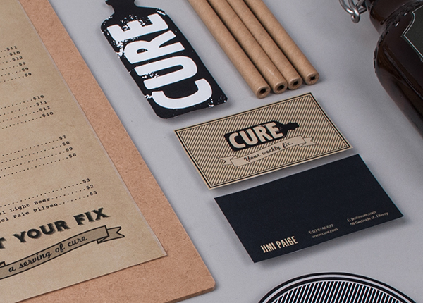 CURE BAR & RESTO - Identity by Bea de Jesus