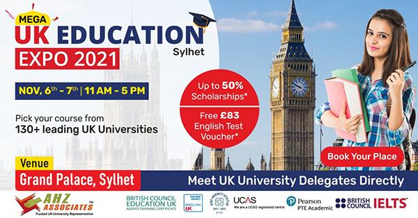 Mega UK Education Expo 2021 – Sylhet