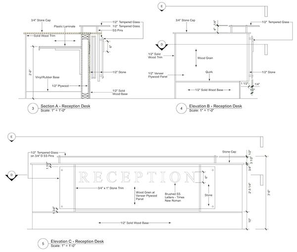 Reception Desk Construction easy platform bed plans Building PDF ...