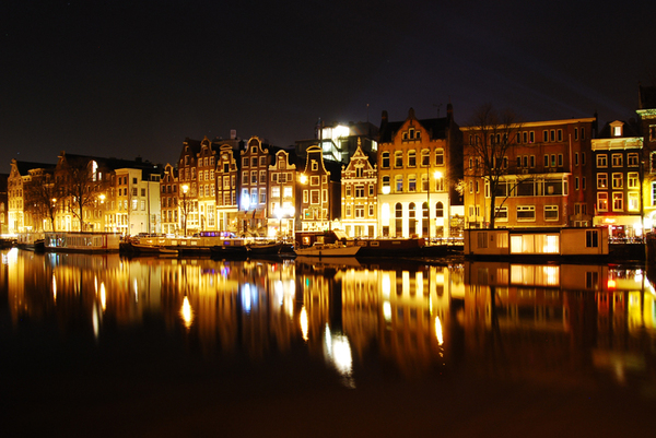 Amsterdam Night Photography Collection On Behance