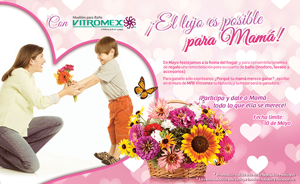 Muebles De Baño Vitromex:Flyers – MPB Vitromex MOCTEZUMA on Behance