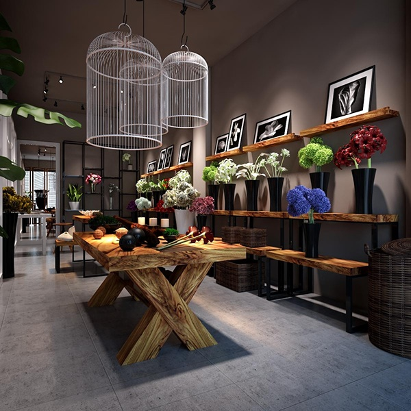 Flower shop on behance for Designs east florist interior