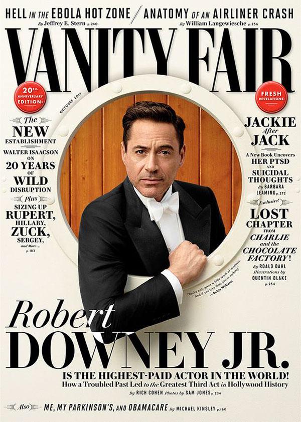 Student Work: Vanity Fair Magazine Cover on Behance