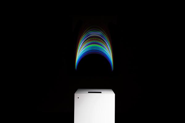 silence noise light darkness RGB spectrum rainbow reflection Analogue digital