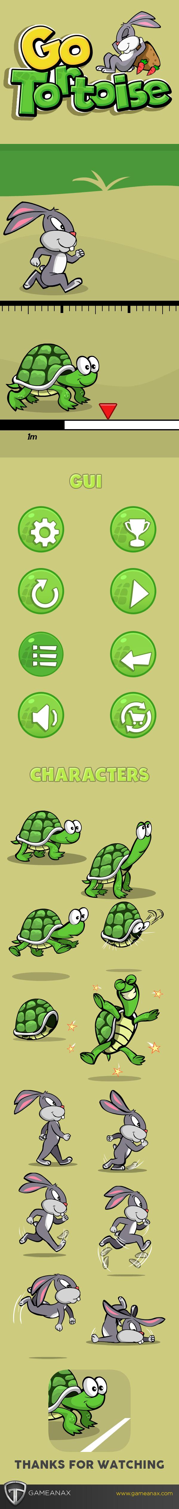 mobile gaming UI ux cartooing race Games iPad iphone