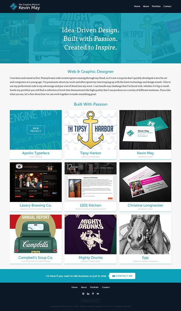 portfolio redesign Website personal