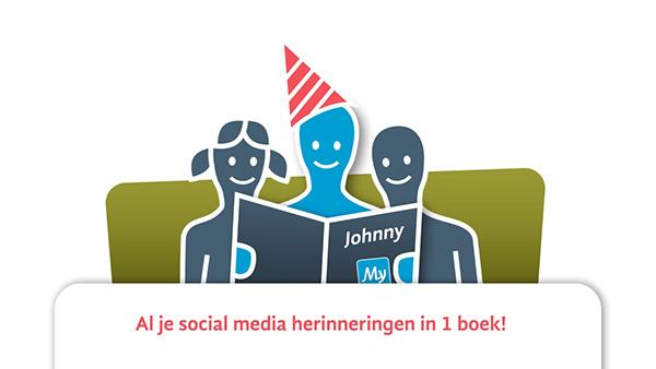 social media book twitter instagram ReSnap