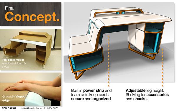 gaming desk plans