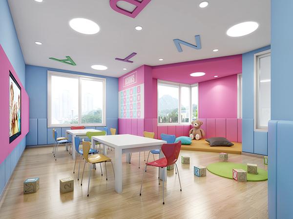 Interior Design For Preschool Classroom : Nanjing space preschool and kindergarten design on behance