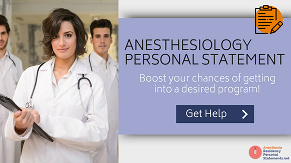 expert sample for anesthesia personal statement