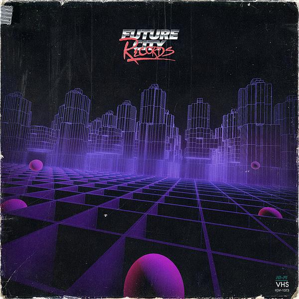 Future City Records Binary City Jarred Hageman 80s dreamscape