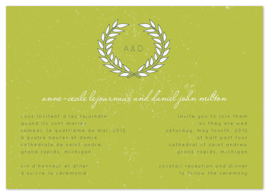 Bilingual wedding invitation on behance stopboris Image collections