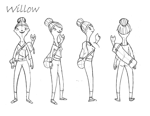 power smart on character design served