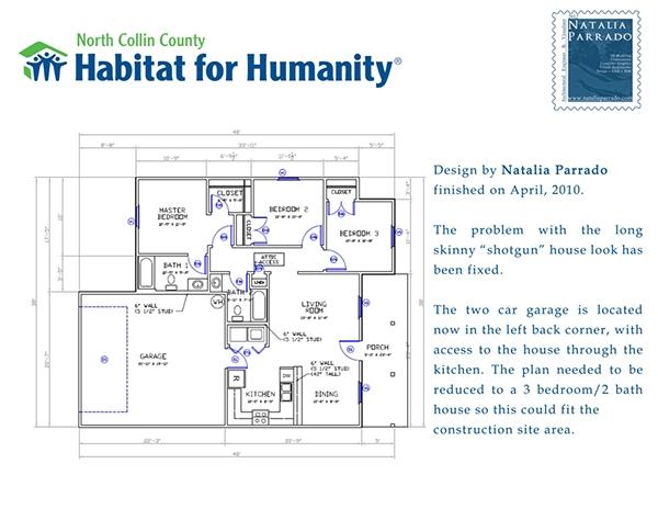 House design volunteering in habitat for humanity on behance for Habitat for humanity home designs