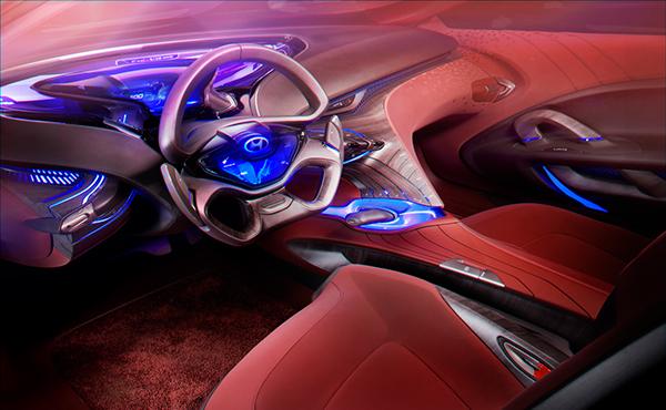 Hyundai Hed 8 I Oniq Show Car Interior Geneva 2012 On Behance