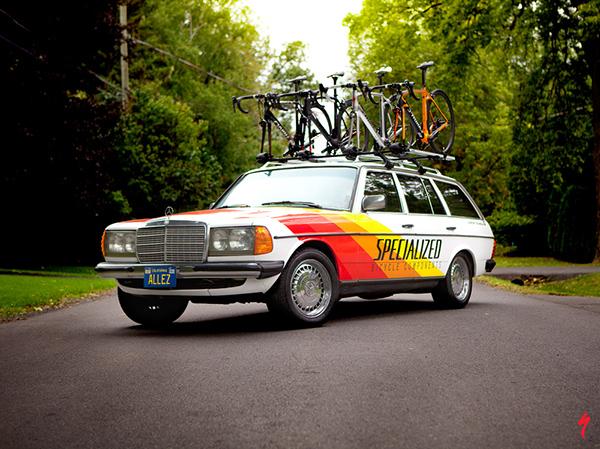 Vintage Specialized Mercedes On Behance
