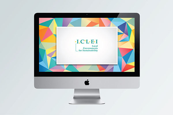 ICLEI iclei sams colors colorful Latin America triangle ong social development governmental Sustainable