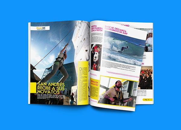 magazine revista brochure editorial concepcion chile