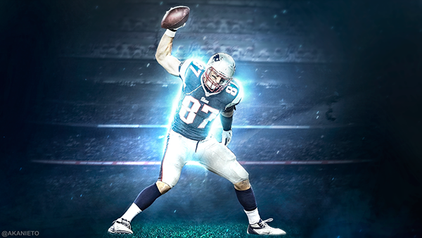 Rob Gronkowski Wallpapper. on Behance - 278.9KB