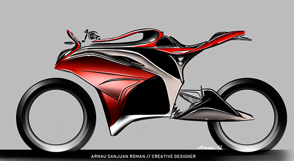 Honda motorcycles concept sketches on wacom gallery collection of different concepts focused on the honda motorcycles brand from super sport to maxi scooters publicscrutiny Choice Image