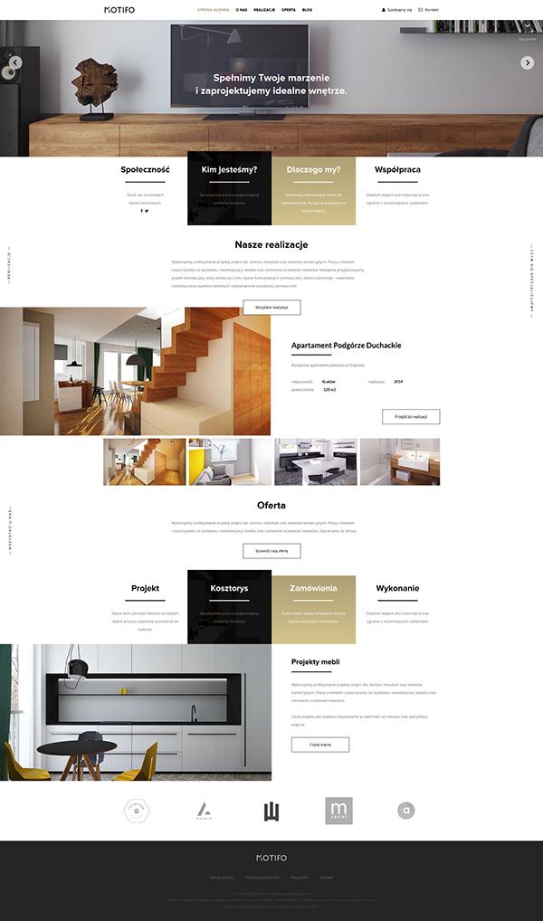 MOTIFO - Interior Design Architect Branding