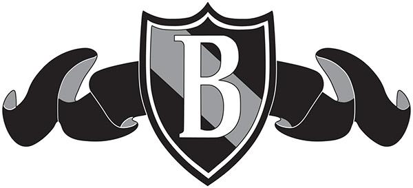 Blacksburg Country Club Ribbon Crest Logo On Behance