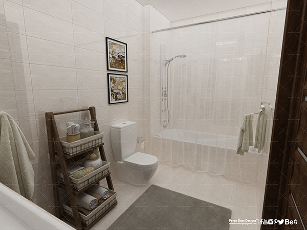 Uv Hotel Master Bathroom Interior Design On Pantone Canvas Gallery