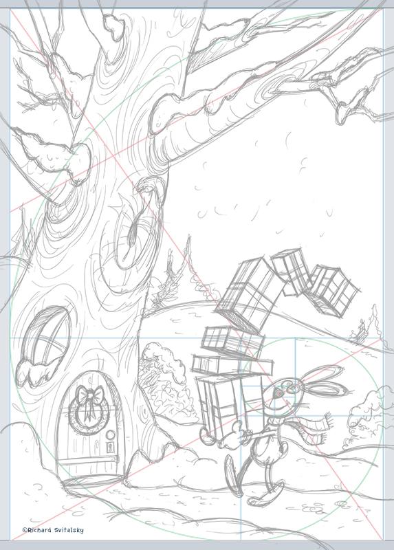 xmas vanoce Christmas ILLUSTRATION  ilustrace zima winter kid children DETI