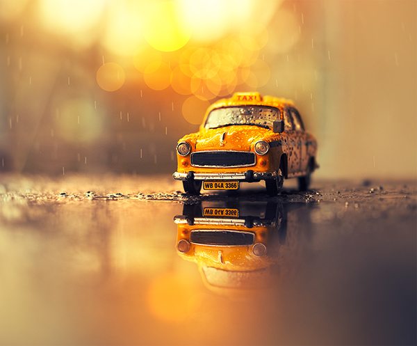 Miniature Toy Cars On Wacom Gallery