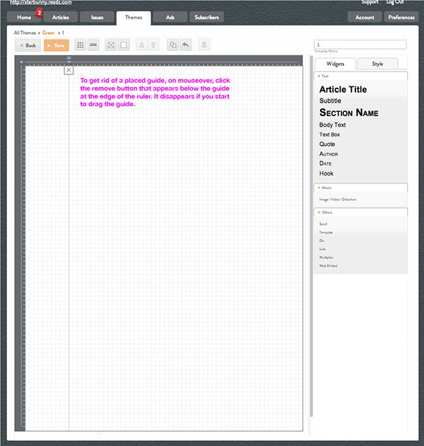 UI improvements Digital Publication UI Responsive Design online editor