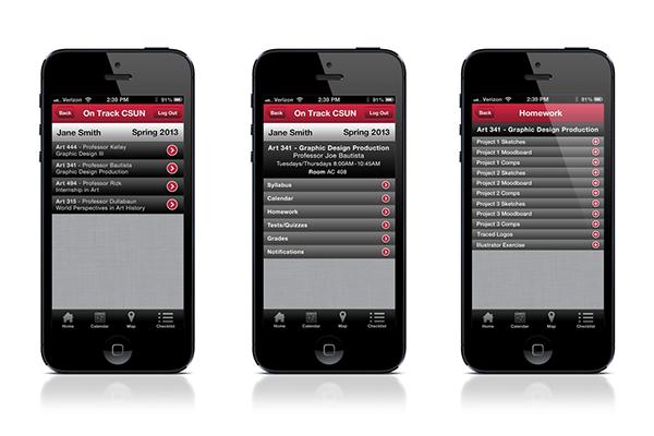 digital iphone application ios6 UI ux ui design UX design
