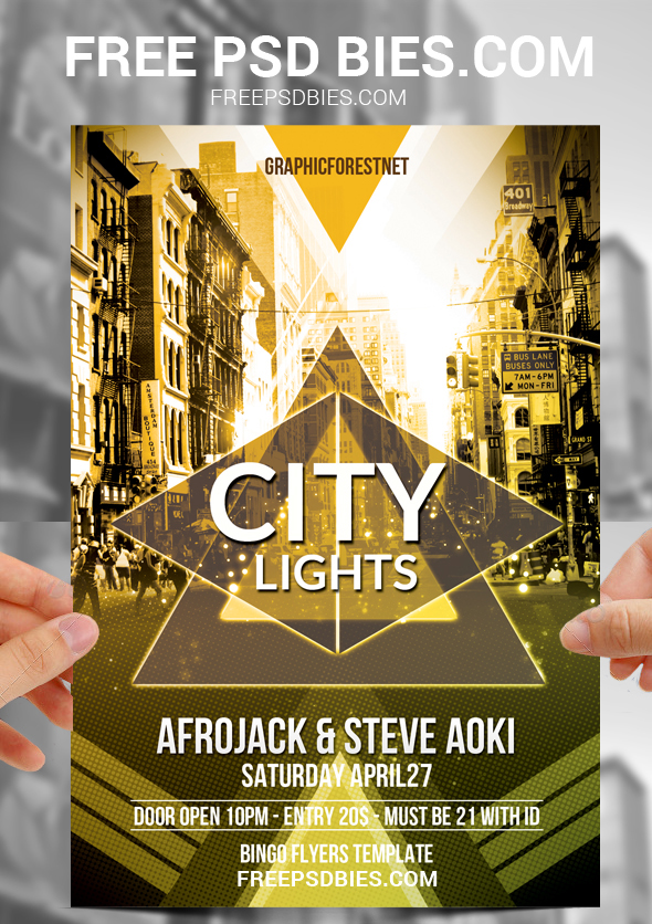 25 free psd party flyer templates on behance