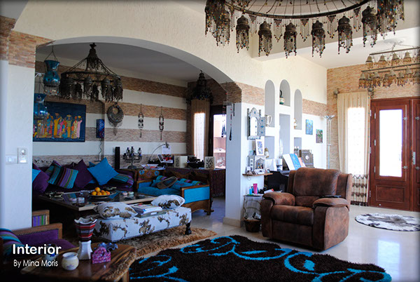 Interior design egypt style with modern mr ahmed villa on for Interior design egypt