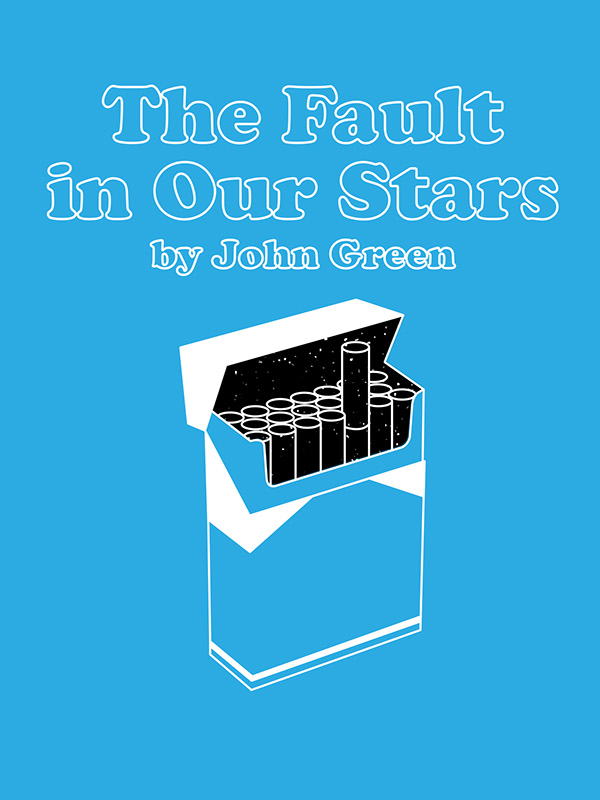 """The Fault in Our Stars"" Book Cover on Behance"