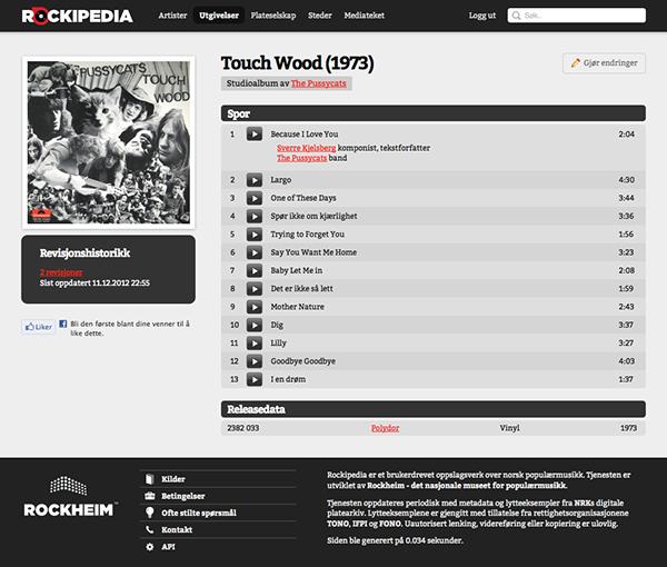 popular music Encyclopedia norwegian