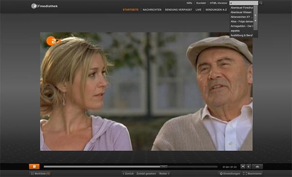 Mediathek Web View