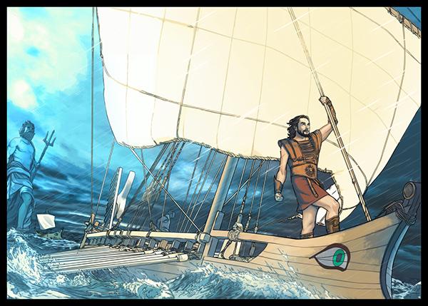 l'Odyssée d'Ulysse on Behance