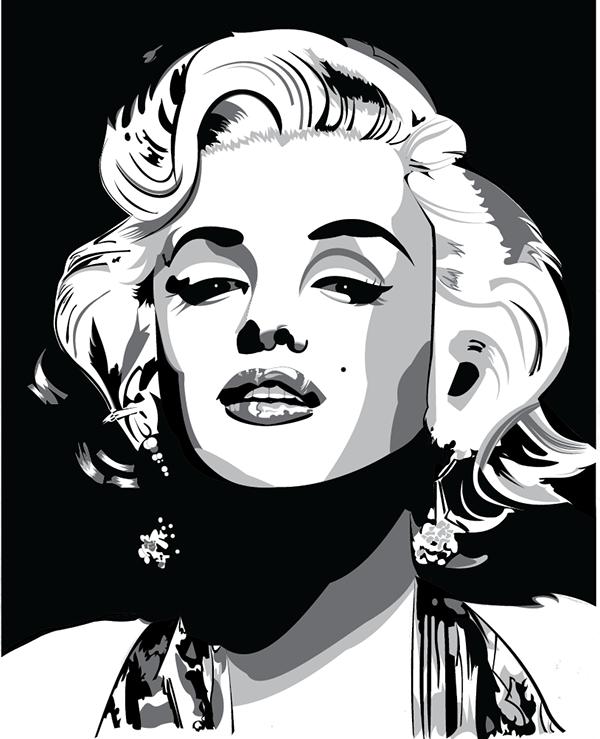Как сделать картинку в иллюстраторе черно-белой