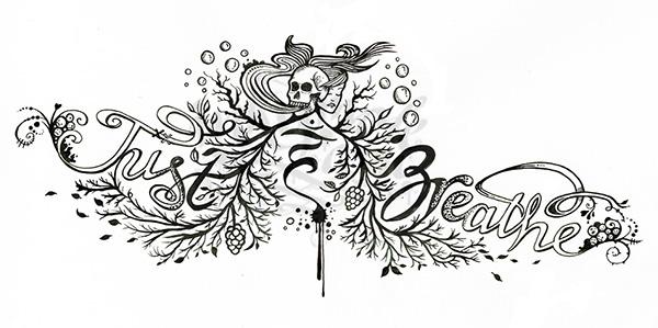 Just Breathe - Tattoo on Behance