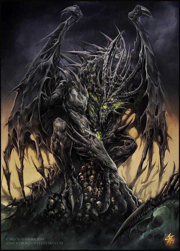 Necrotic Dragon on Behance